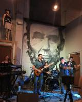 Amazing cover band Exit Left live at Lincoln's Beard Brewing Company