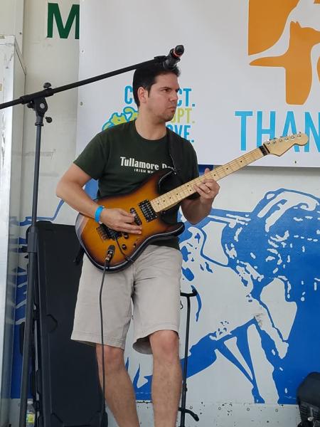 Best Guitarist in South Florida - Andrew Ramirez Exit Left