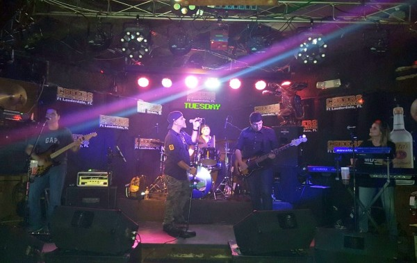 Exit Left Band Live at Cheers in Fort Lauderdale Florida