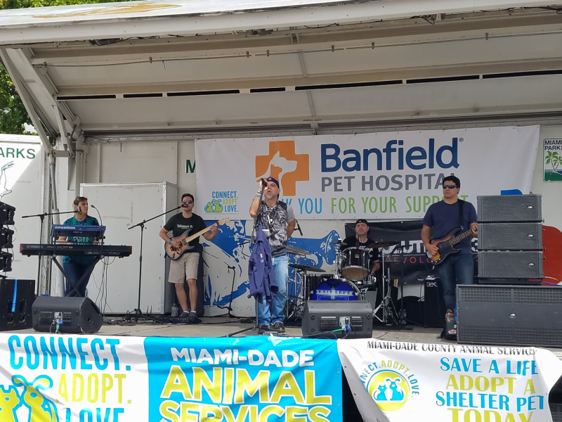 Exit Left Live at the Miami Dade County Adopt a Pet 24 Hour Mega Thon
