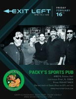 Exit Left Live at Packy's Exit Left Band Rocks