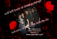 Exit Left Band, Whiskey Tango Hollywood, Hollywood Young Circle Events, Exit Left