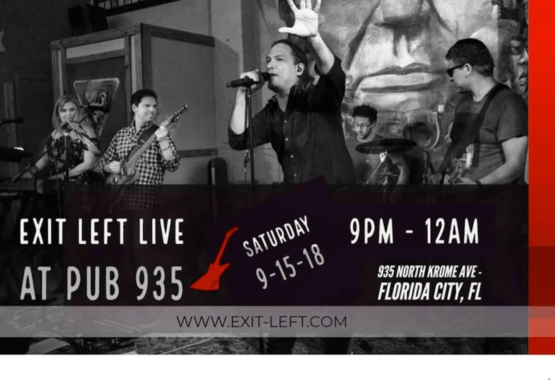"""""""Exit Left Live at Pub 935"""", Exit Left Live at Pub 935, Exit Left Live at Pub 935, """"Exit Left Live"""", """"Exit Left Band"""", Exit Left Live at Pub 935, """"Exit Left Rocks"""" """"Miami's Best Cover Band"""""""
