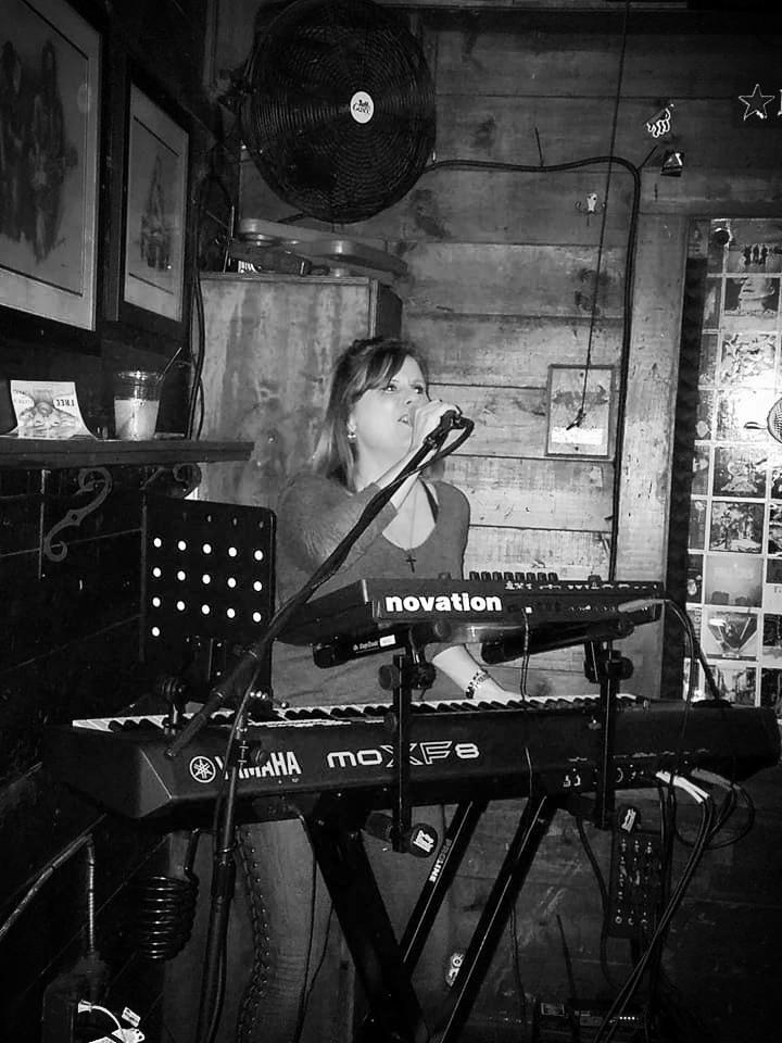 Exit Left's Susie Ramirez Keyboards and Vocals