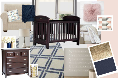 Nursery - Design Sample Board