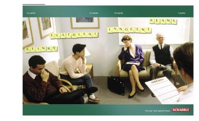 Scrabble Ad Campaign