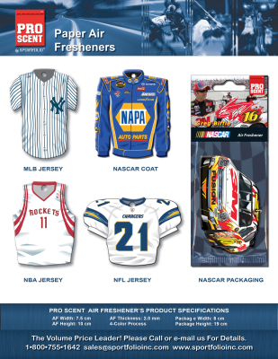 Sportfolio Air Freshener