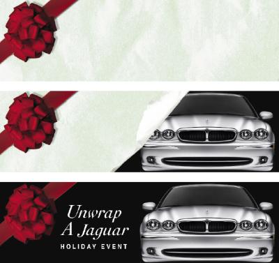Jaguar Lenticular Billboard
