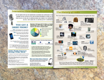 DFZ Radio Brochure Info Graphic