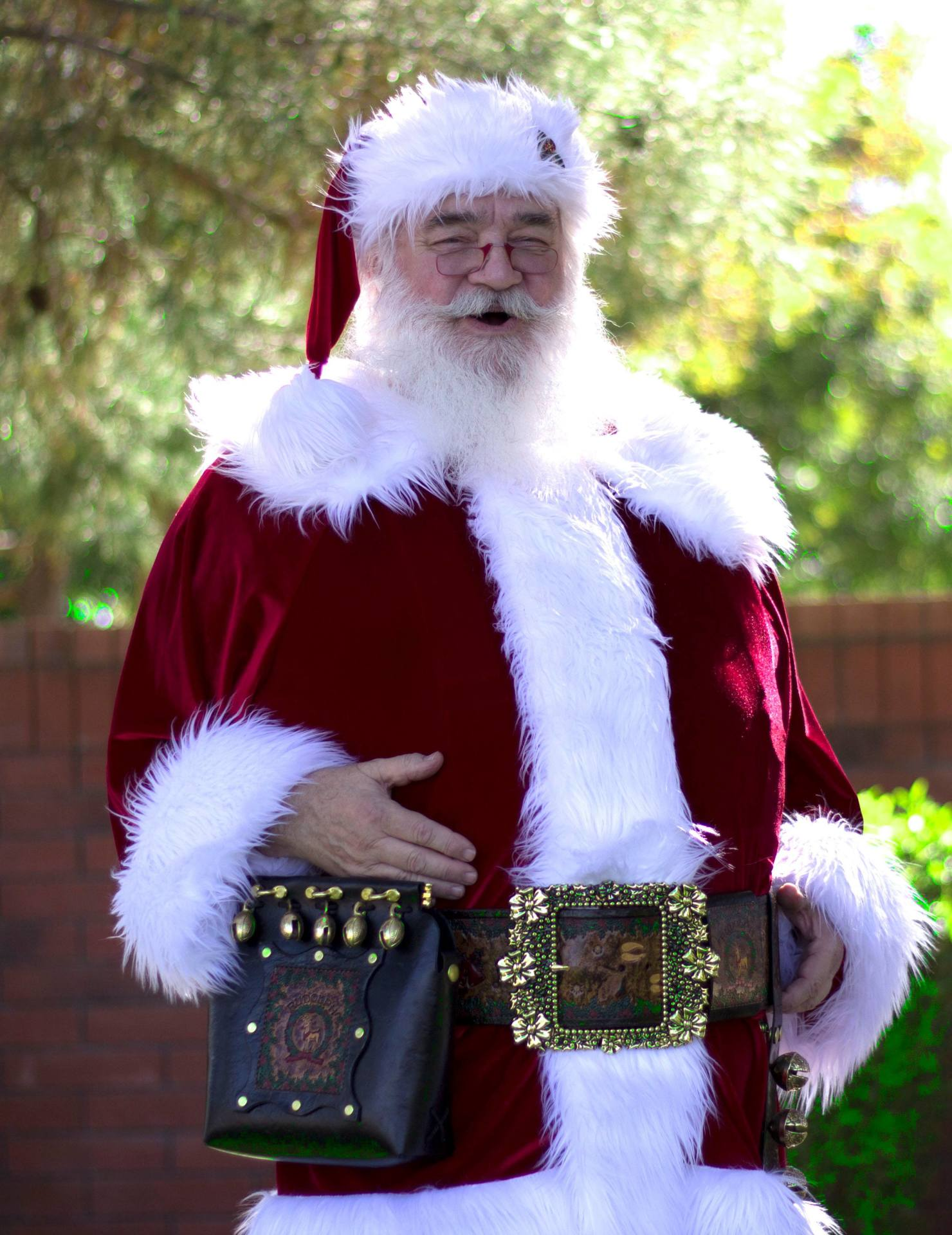 High Quality Santa Claus for Rent/hire