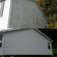 Algea Mold and Mildew Removal from Vinyl Siding