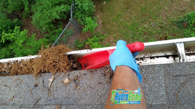 Gutter Cleaned Out By Hand Bluefield, West Virginia