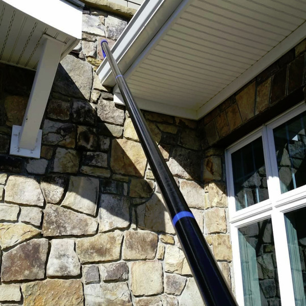 SkyVac At Work Cleaning Gutters Princeton, West Virginia