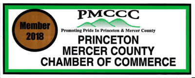 We are certified members the Princeton Mercer County Chamber Of Commerce to support our community and to grow our business for the future of our company.