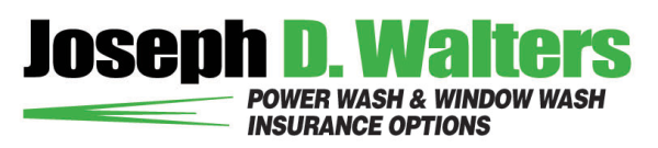 Power Wash and Window Wash Insurance.