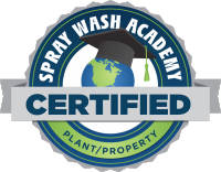Certified, Plant and Property, Princeton West Virginia, Pressure Washing Service, Soft Washing, Education, Spray Wash Academy