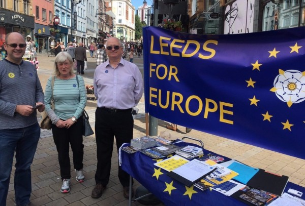 Leeds for Europe Logo
