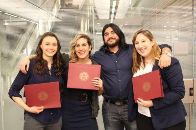 Jennifer Letvi, Caitlin Fowler, Elizabeth Richardson and Shihab Sarwar