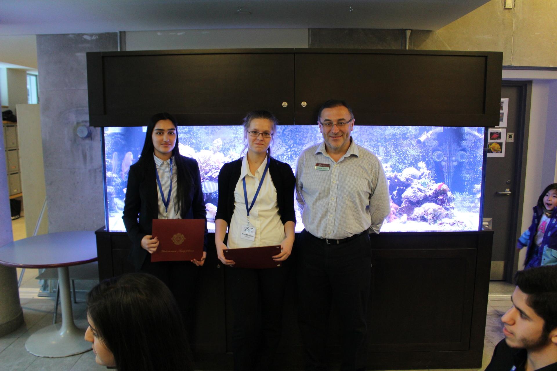Bronze Medalists - 500$ per student