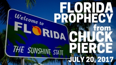 Florida Prophecy from Chuck Pierce