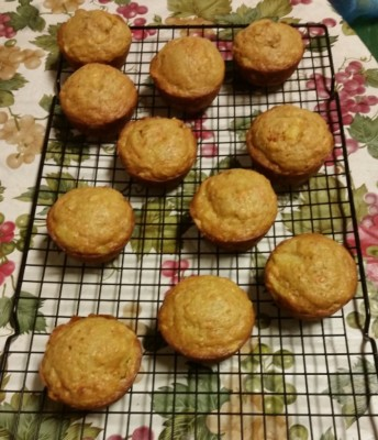 Pineapple and Carrot Muffins
