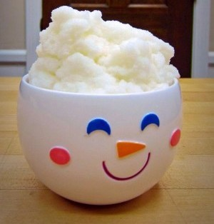 Snow Days mean Snow Cream