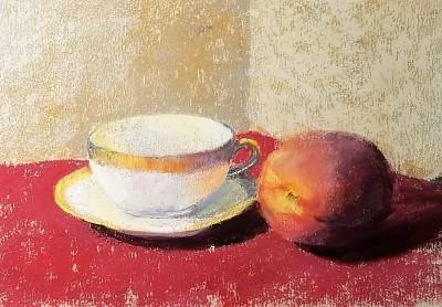 A Not-So-White White Teacup.