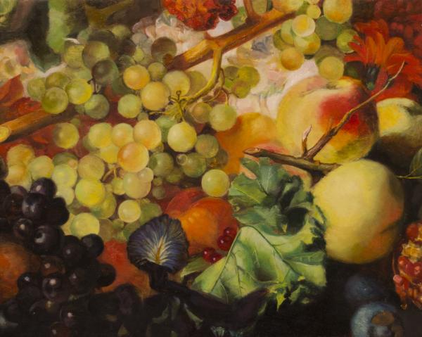 Master Study - Van Huysum