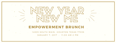New Year, New Me Empowerment Brunch (Press Release)