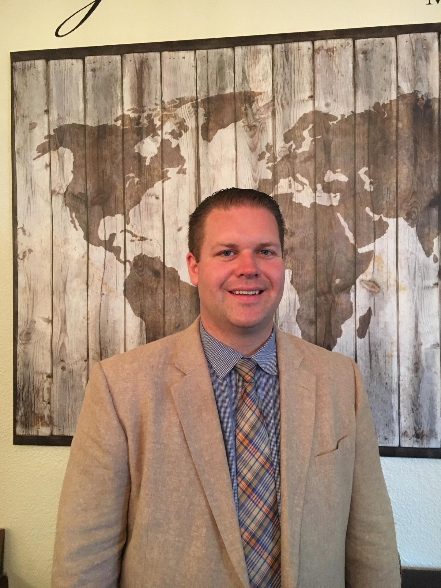 Pastor David Callaghan