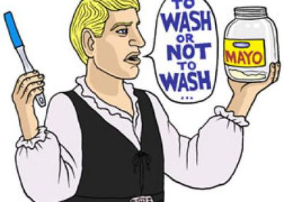 Rinse or Wash Items