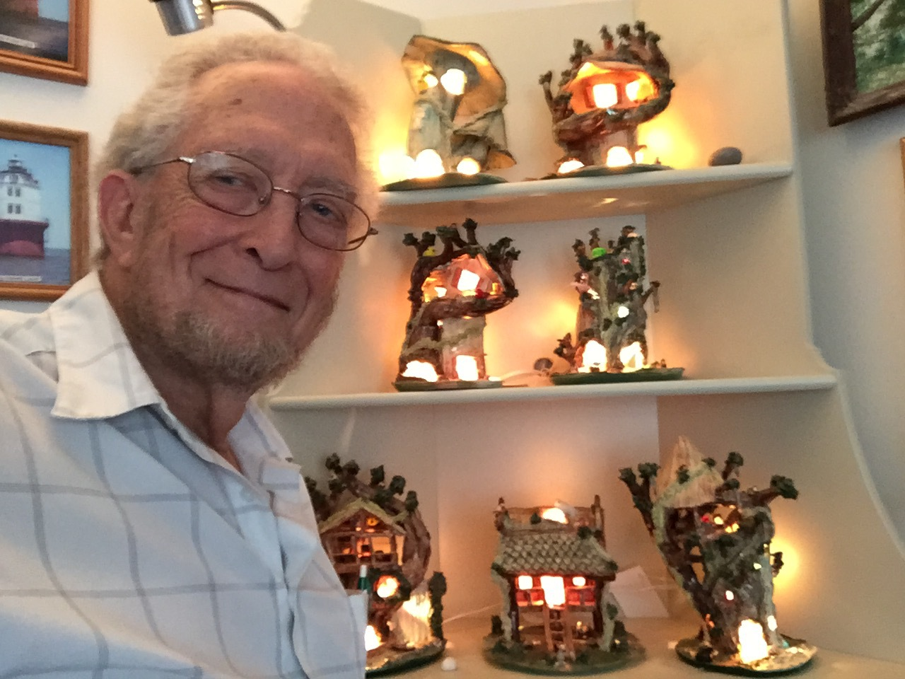 John Potts, Clay Artist