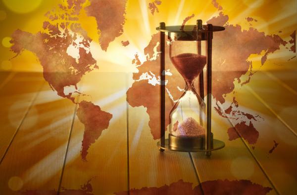 EARTH HOUR GLASS