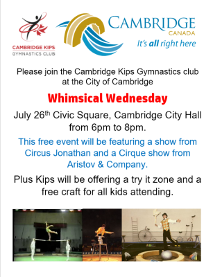 Cambridge kips events