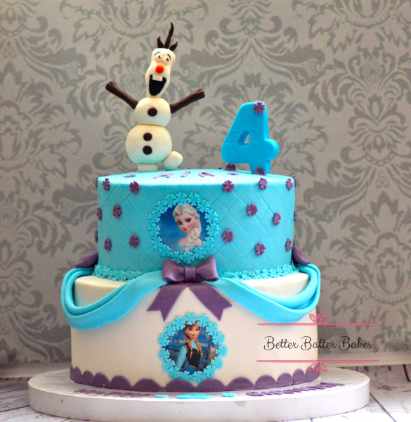 Frozen Movie, better batter bakes, cakes