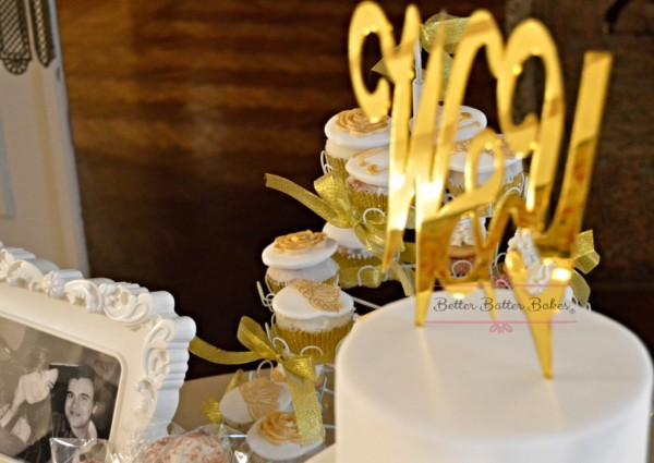 wedding engagement cake and cupcake, better batter bakes, cakes