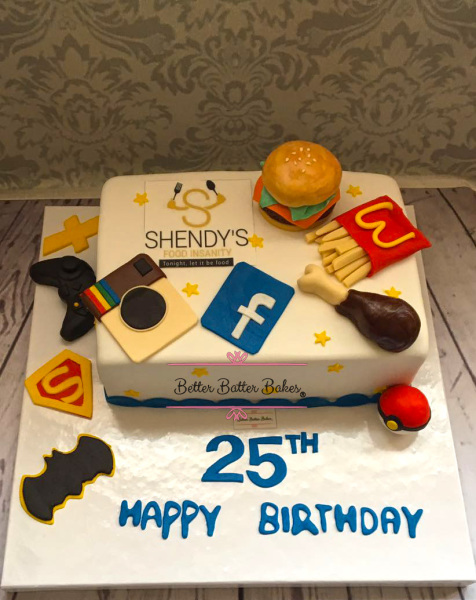 cool birthday cake, better batter bakes, cakes