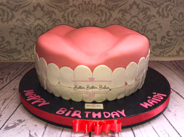 dentist cake, better batter bakes, cakes