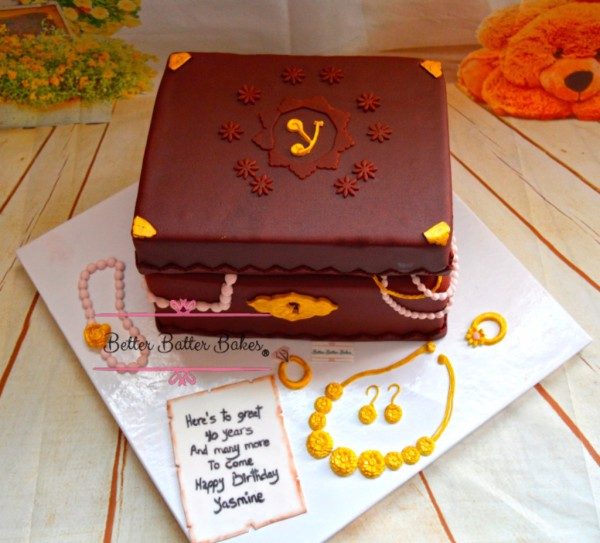 jewelery box cake, better batter bakes, cakes