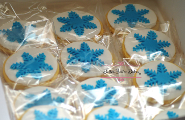 Frozen Movie Cookies, better batter bakes, cakes