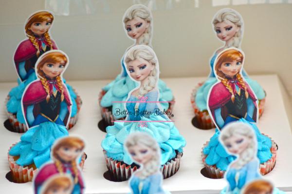 frozen cupcakes, better batter bakes, cakes