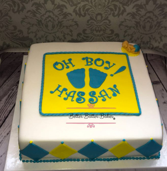 baby shower, better batter bakes, cakes