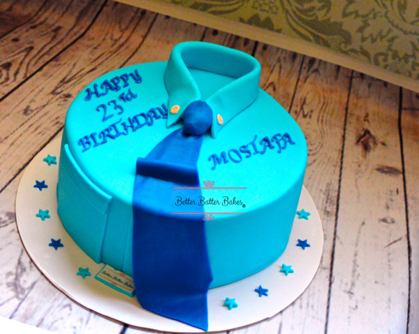 better batter bakes, cakes, cupcakes, cake pops, cake jars,cookies, cake push,customized cake,Blue, Cake, Blue shirt cake, rocking all shades of blue, blue, all shades of blue, birthday, birthdays, betterbatterbakes