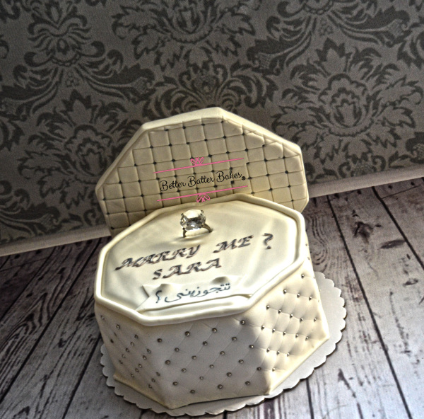 Jewelry box, diamonds, alleatable, cake, proposal,engagement, married, wedding, engagement