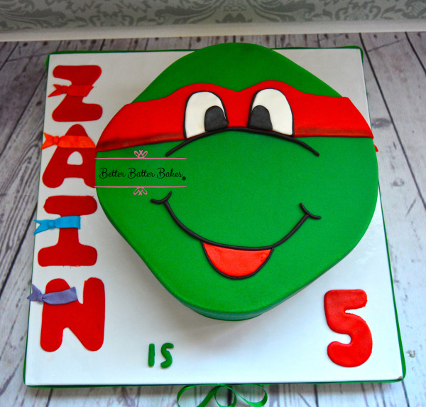 better batter bakes, cakes, ninja turtles, betterbatterbakes, cupcakes, customized