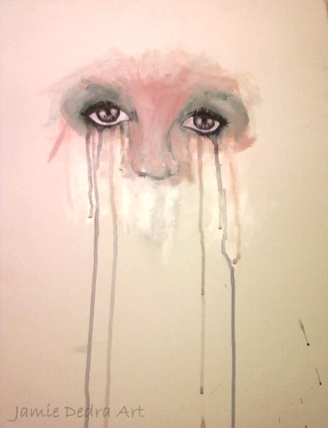 SOLD Crying eyes