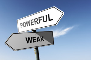 Embrace the Power of Weakness