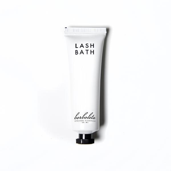lash bath lash cleanser borboleta