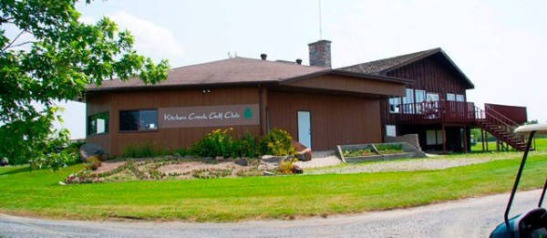 Golf at Kitchen Creek Golf Course Club House, Fort Frances, Ontario
