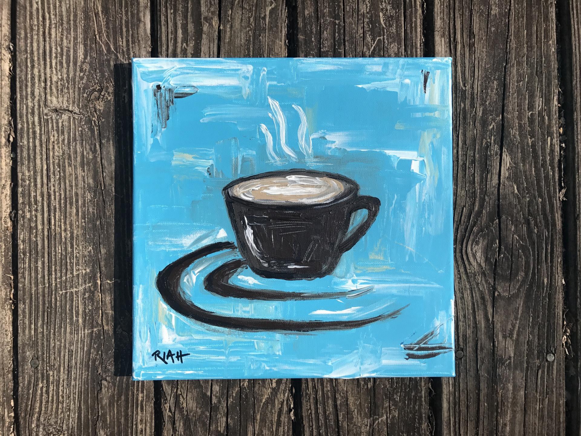 """Blue Ridge Coffee"" | 12 x 12"